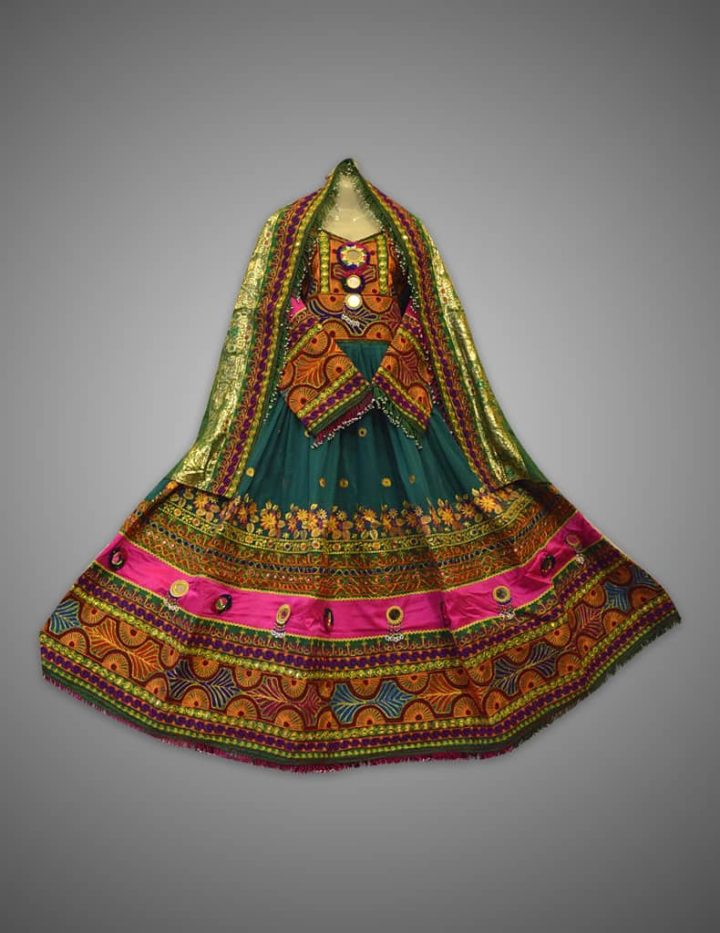 Kuchi Heritage Afghani Dress