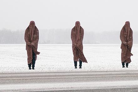 Burqa Art Afghan Artist