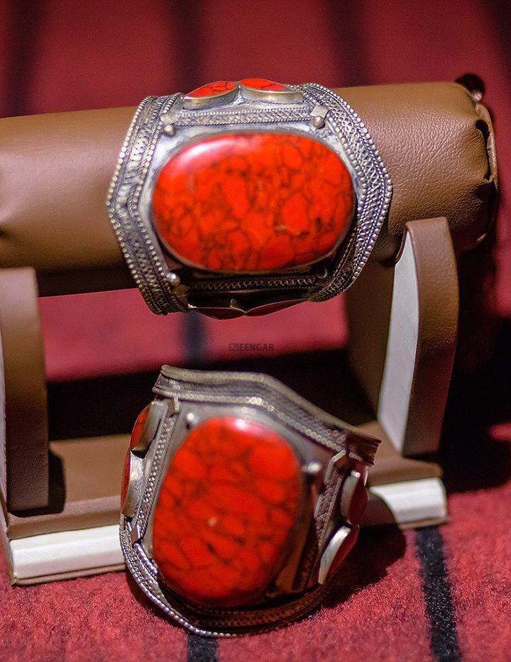 Vintage Tribal Kuchi Cuff Bracelet