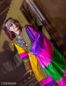 Vibrant Afghani Frock