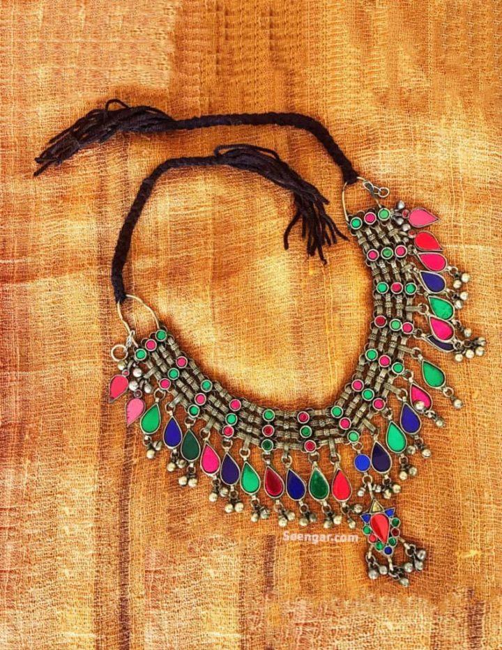 Nauratan Thread Choker Necklace