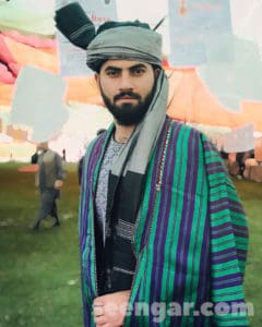Afghan Traditional Turban Lungee