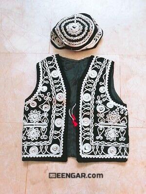 Afghan Waiscoat for Kids
