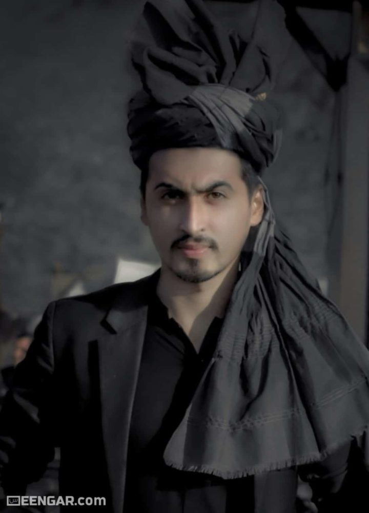 Black Afghan Turban